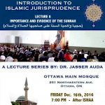 A lecture on Islamic Jurisprudence