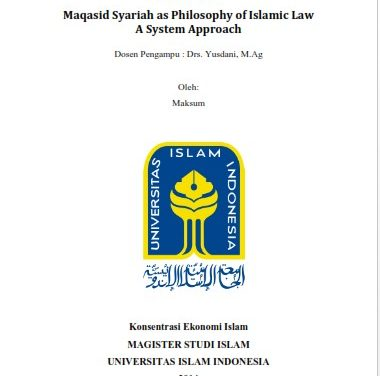 Book Review Maqasid Sharia as Phylosophy Jasser Auda